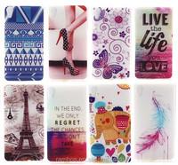 TPU Gel Custom Print Cell Phone Soft Back Cover for Sony Xperia Z4