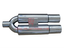 MOTORCYCLE SPARE PARTS FOR EXHAUST PIPE,STAINLESS STEEL EXHAUST TUBE