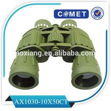 10x50ct prismáticos militares, binoculares del ejército
