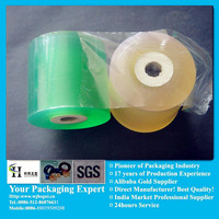 pvc plastic stretch protective blue roll films from packaging manufacturer