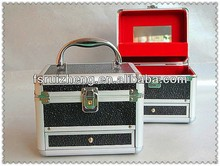 Hotselling new design cute lady use cosmetic case with drawer RZ-SC-003