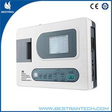 BT-ECG30A Three Channel Interpretive Electrocardiograph stress test ecg machine