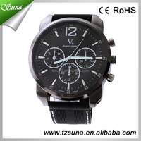 The Top Quality V6 Hour Marks Big Dial Silicone Sports Luxury Watches For Men