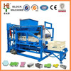 hollow concrete block making machine QTJ4-18 cement block making machine sale in ethiopia