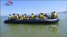 2015 Summer Sales CE Certificated 30 person Rowing passenger boat