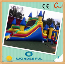 2015 Affordable attractive bounce house,inflatable toboggan slide,inflatable jumpers