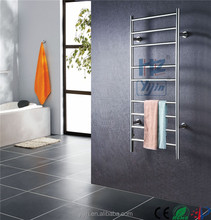 High Grade Stainless Steel Electric Heated Towel Rail Wall Mounted Towel Warmer Clothes Dryer