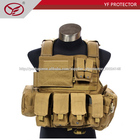 militar tática bulletproof vest com bolsos