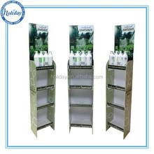 Pop retail displays/catching shopper eyes shampoo retail fixtures display