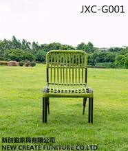 Aluminum outdoor furniture armless wicker outdoor rattan chair