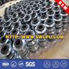 Thread-connection rubber compensator