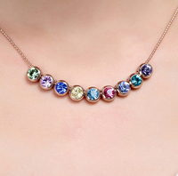 Christmas Promotion Jewelry Moveable Necklace Made With Swarovski Element