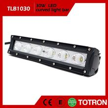 TOTRON New Arrival Import Led 20% Price Off High Quality Ip68 Single Row 4X4 Light Bar Auto