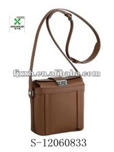 high grade leather man's small messenger bags