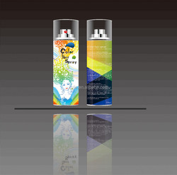 Temporary hair color spray hot new products for 2015 made in guangzhou,china