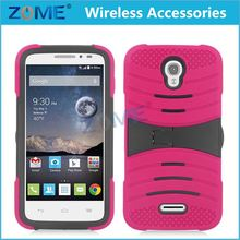 New Products Pc+Silione Hybrid Stand Mobile Phone Case For Alcatel Astro 5042T
