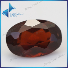 Cheap loose red natural faceted price of a garnet stone