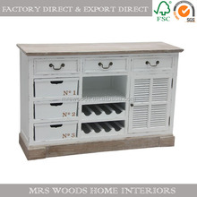 antique french style wine cabinet