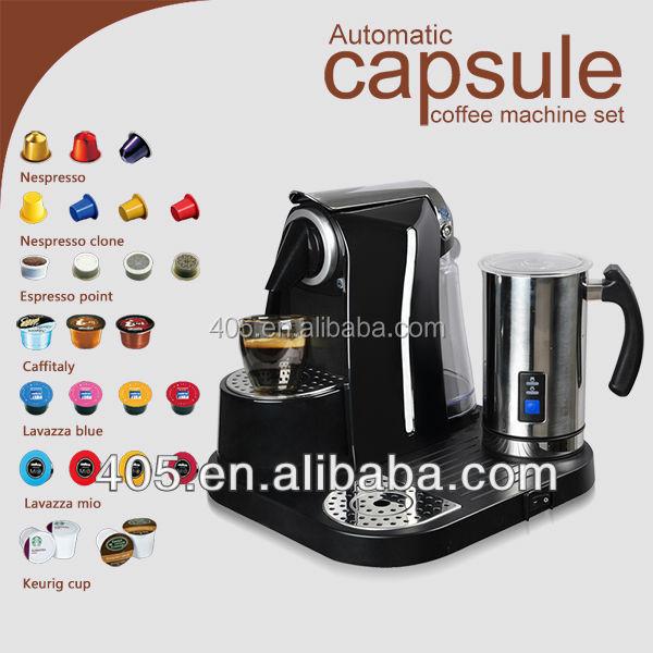 nespresso coffee machine capsules