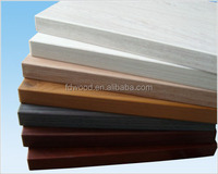 18mm double faces wood grain melamine paper laminated mdf