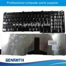 Brillante negro teclado por Toshiba A500 SP distribución del teclado