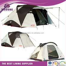 100 Polyester taffeta High quality coated fabric blackout lining for tent