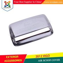 2012 TOYOTA HILUX VIGO AIR SCOOP COVER HOOD/BONNET SCOOP COVER 4x4 PICKUP ABS CHROME CAR ACCESSORIES
