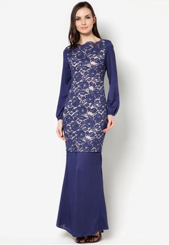 Lastest Elegant Dress Abaya Fashion Lace Chiffon Baju