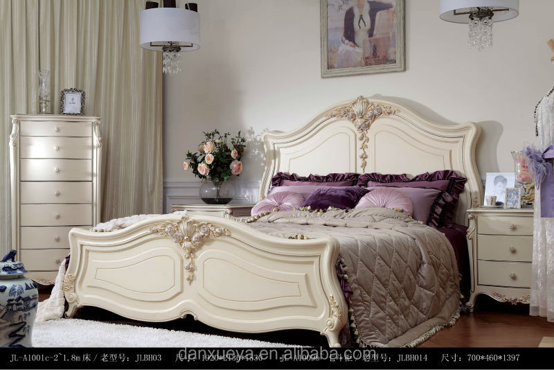 Baroque Bedroom Furniture Italian Princess Love Bed White Bed Room Set