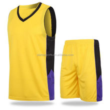 High quality Cheapest youth basketball uniforms sets