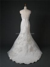 G5786L Sweetheart Sexy See Through Lace Fishtail Mermaid Wedding Dress