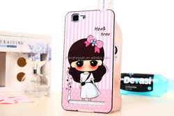 alibaba express cartoon tpu +pc cute hybrid phone case for vivo x5 max