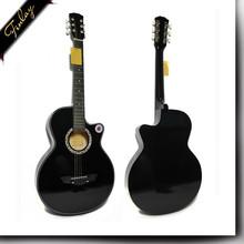 Finlay 38C Guangdong wholesale diy parts necks for sale mini beginner acoustic guitar