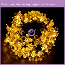 k8075 Christmas star light 10 Silver Star Battery Operated LED decoration lights