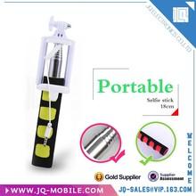 Colorful Monopod Economic Mini Cable Safe Stick Monopod/Mono Pod with universal holder