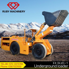 Novo 1.0 CBM elétrico carregador subterrâneo equipamentos de mineração