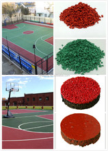 Basketball Courts Rubber Flooring, EPDM Rubber Flooring For Outdoor Sports Court -FN-D150533