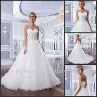 Lillian W. Classic 2014 Princess Sweetheart Beaded Long Train Organza Wedding Dresses Bridal Gown Free Shipping