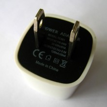 5v 1a mini cube travel mobile phone ac wall charger
