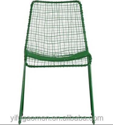 Classique designs fil ext rieur en m tal sling chaise - Chaise exterieur aluminium ...