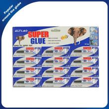 Aluminum Tube Cyanoacrylate Super Glue Clear Fast Glue 3G