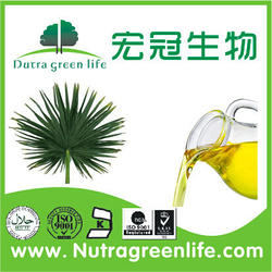 GMP factory Saw Palmetto Fruit Extract Oil Total Fatty Acids 20%-85%