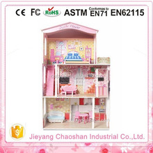 Hot Mini Wooden Doll House,High Quanlity Kids Wooden Play House