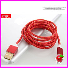 PVC/ TPE usb charger cable with mini usb charger cable manufacturer for ios8 cable