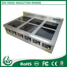 Inducción comercial equipo de cocina usado para restaurante