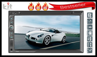 "6.2"" Dashboard place car dvd player FM,AM tuner"