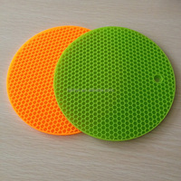 rubber plastic dining table mat pad acrylic table pad silicone pad