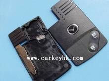 wholesale and retail Mazda 2 button smart remote key card shell cover