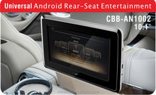 10.1 inch touc screen LCD -TFT andriod car headrest monitor with SD/USB/WIFI/bluetooth/MP3 /DVD palyer