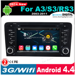 AUD-7683GDA with Smart App Updates 2 DIN CAR AUTORADIO FOR A3 S3